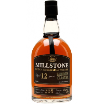 Millstone 12 Years Old Sherry Cask  Zuidam Distillers