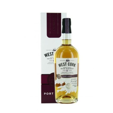 West Cork 12 Years Old Irish Single Malt Whiskey Sherry PX Finish