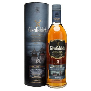 Glenfiddich 15 Years Old Speyside Single Malt Whisky